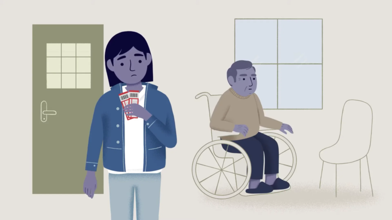 Taking care of a family member isn't easy but caregiving is important. Watch this video to learn how you can to prepare to be a young caregiver.